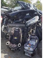 Автокресла спасли жизнь двоих детей в страшной аварии